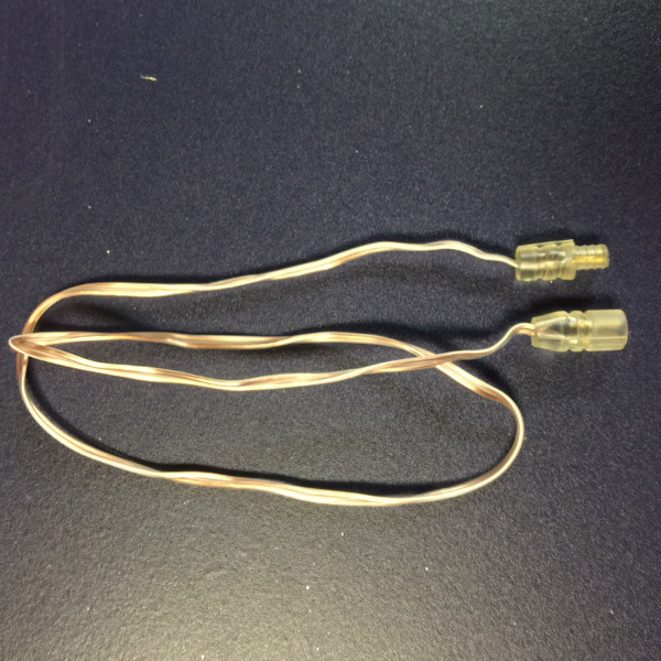 2-foot lead wire or wire extender