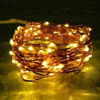 200 Warm White LEDs on Copper or Silver Wire