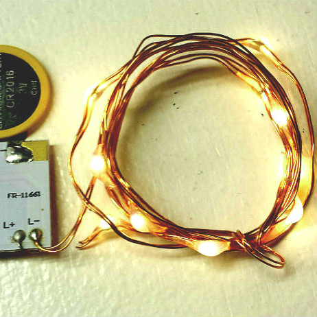 3 foot copper wire string light 10 warm white fairy lights copper wire string light available in copper or silver color
