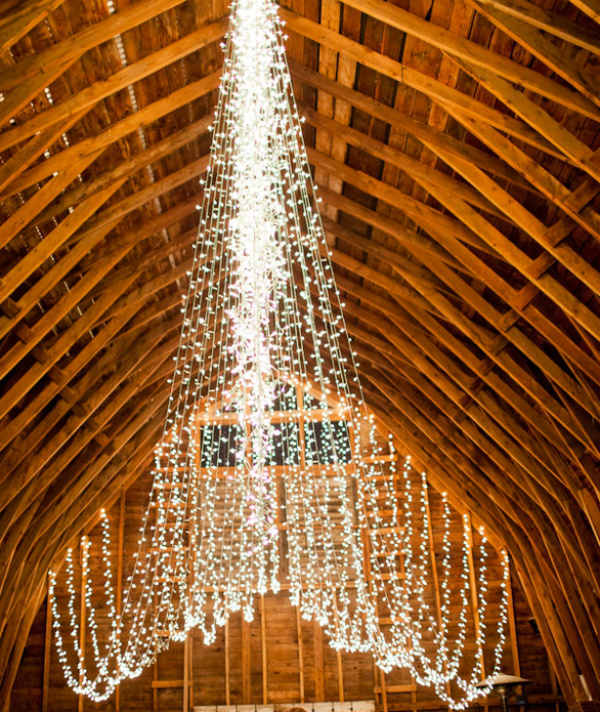 Up to 300 feet of Fairy Lights