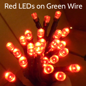 24-LED 10-foot Strand, 4 color choices (2-Pin) - S24STRAND
