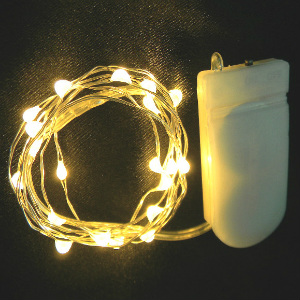 Warm White Twinkle Lights - Copper Wire
