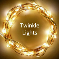 50 Warm White Twinkle Fairy Lights