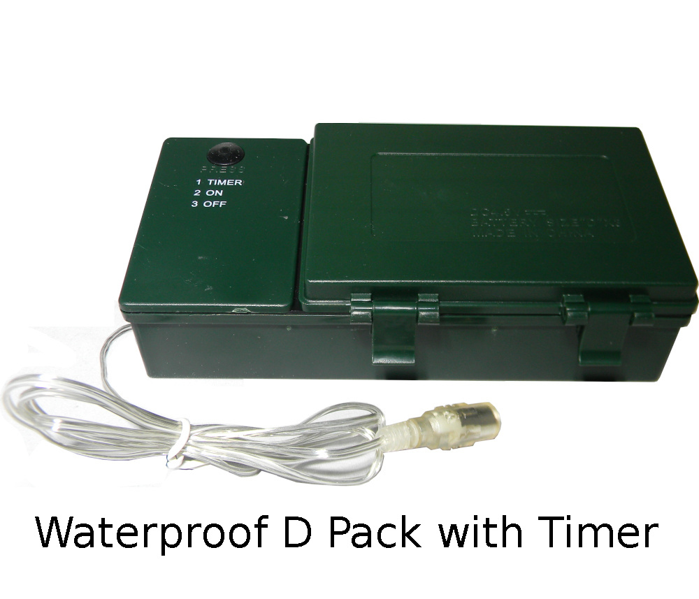 Waterproof D Pack with Timer