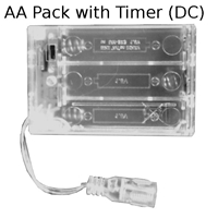 AA Battery Pack with DC Connector