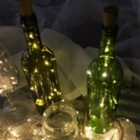 Light Up Wine Stopper with 10 Fairy Lights