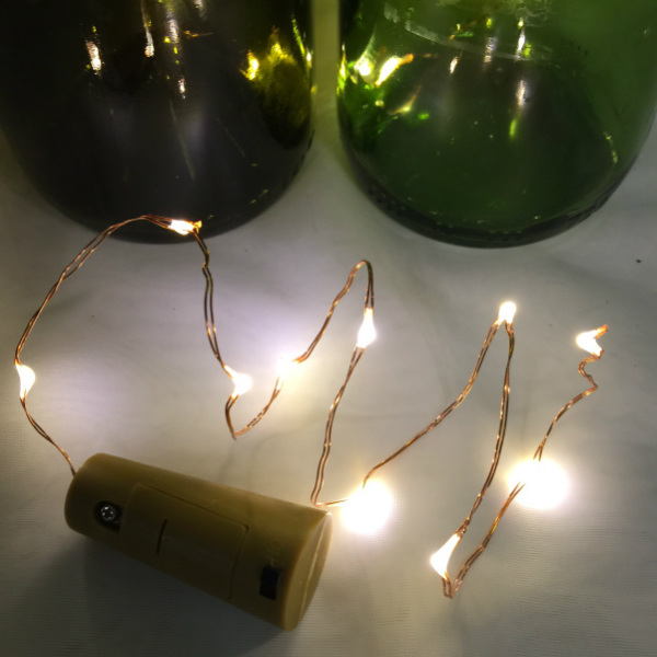 19 Inch Copper Wire String Light With Warm White Fairy