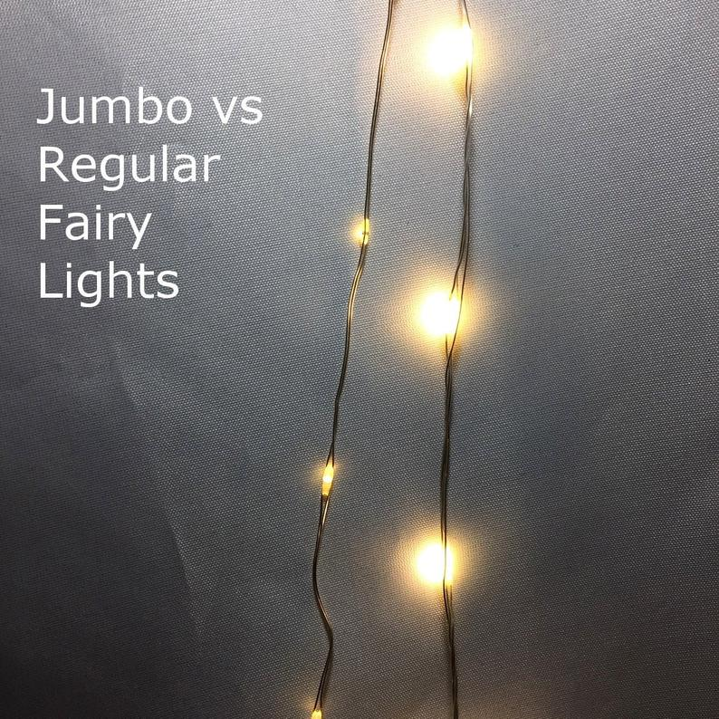 Larger Jumbo Fairy Lights